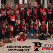 2015 East Orlando Junior Predators Cheerleaders
