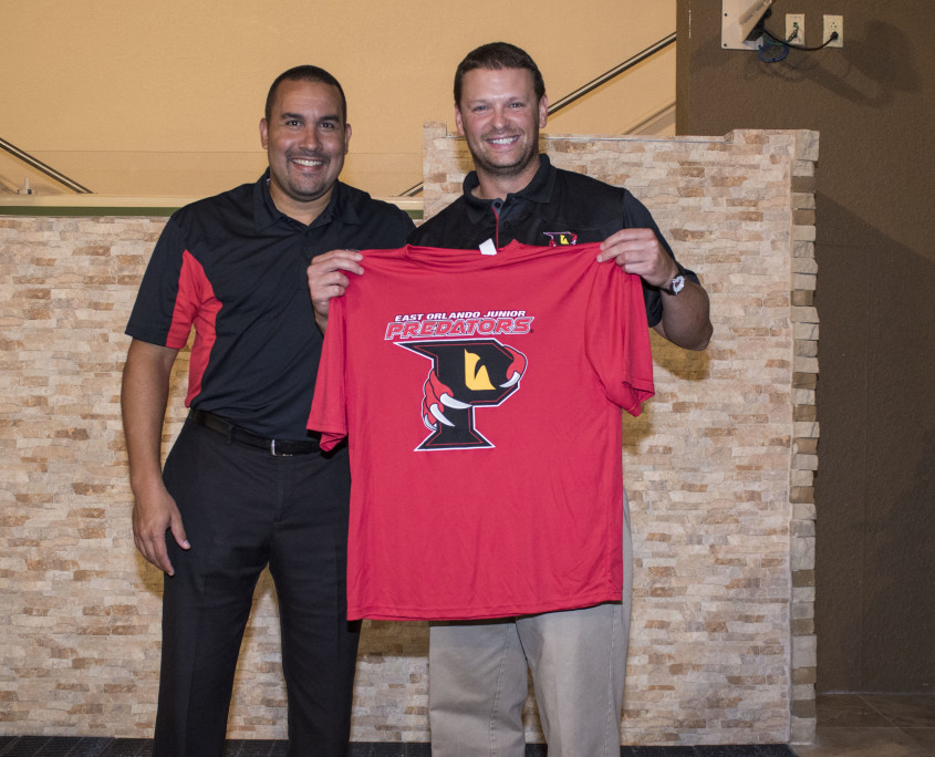 Image of Shawn Seipler & Rob Keefe at East Orlando Junior Predators Event