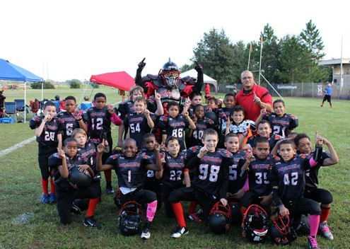 Image of East Orlando Junior Predators AAU 8u team