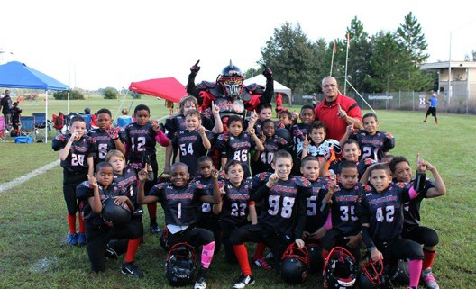 Image of East Orlando Junior Predators AAU 8u team