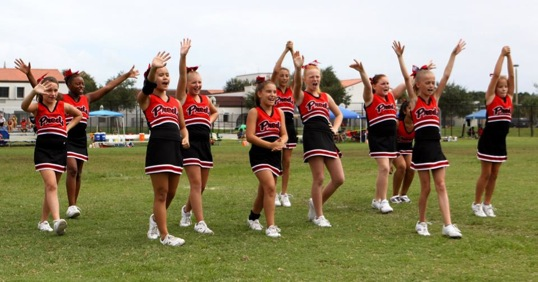 Image of East Orlando Junior Predators' 2014 12u Cheer Squad
