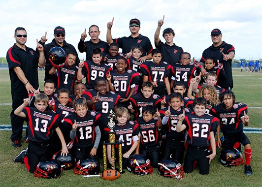 Image of 2013 FYFCL 8u south divisions - East Orlando Junior Predators