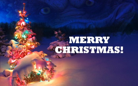 Image of Merry Christmas Message form East Orlando Junior Predators