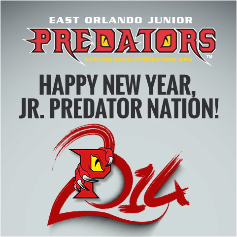 Image of Happy New Year by East Orlando Junior Predators