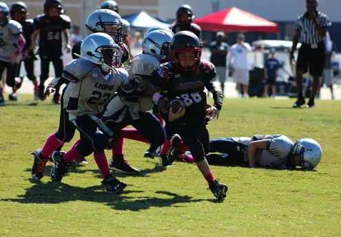 Image of East Orlando Junior Predator Youth Football rusher