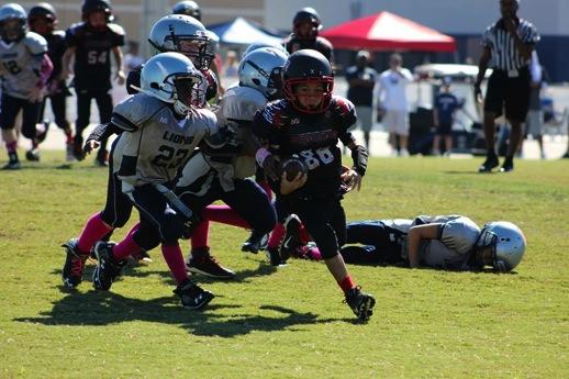 Image of East Orlando Junior Predator Youth Football rusher