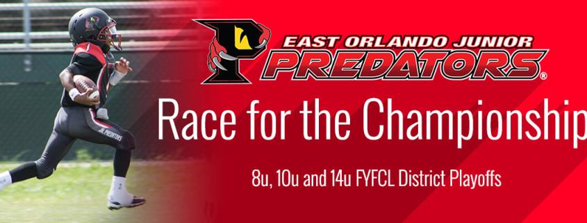 Three East Orlando Jr Predator teams make district playoffs