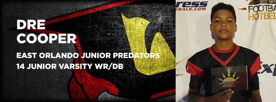 Dre Cooper - East Orlando Junior Predators Varsity Football