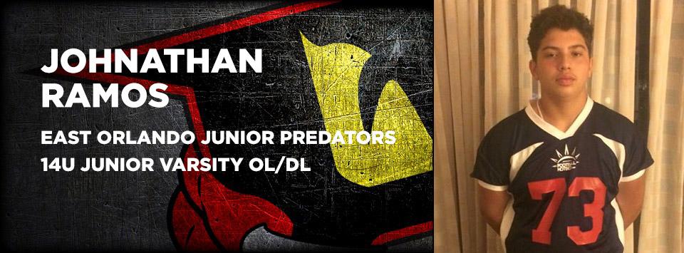 Johnathan Ramos - East Orlando Junior Predators Varsity Football