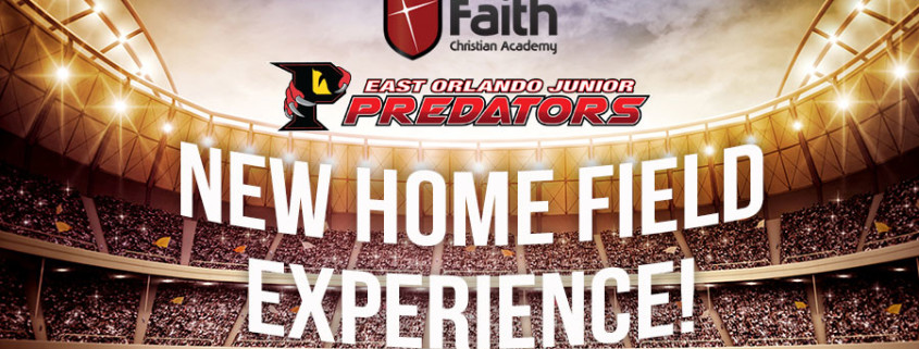 East Orlando Junior Predators and FCA combine to build new home field experience