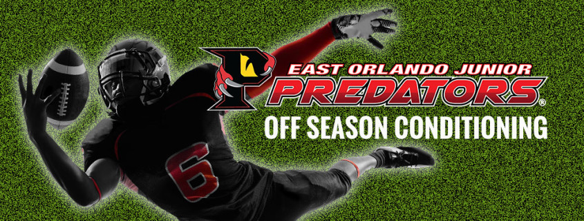 Youth Football Conditioning by East Orlando Junior Predators