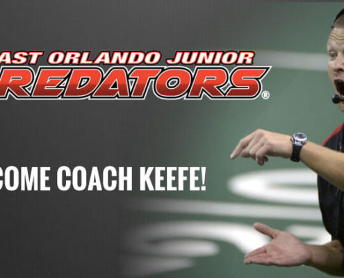 Coack Keefe Joins board ofEast Orlando Jr Predators
